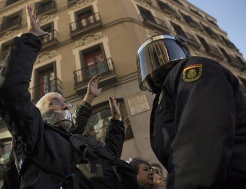 Koniec wolności słowa i zgromadzeń w Hiszpanii