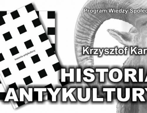 """Cytaty z """"Historii antykultury"""" Krzysztofa Karonia – część 1"""